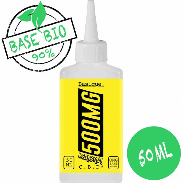 Lemon OG - 500mg CBD -  Bio Basique. 50ml