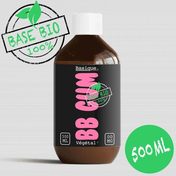 Bubble Gum - 500ml - Bio Basique.
