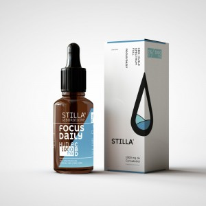 HUILE CBD FOCUS DAILY STILLA® FULL SPECTRUM