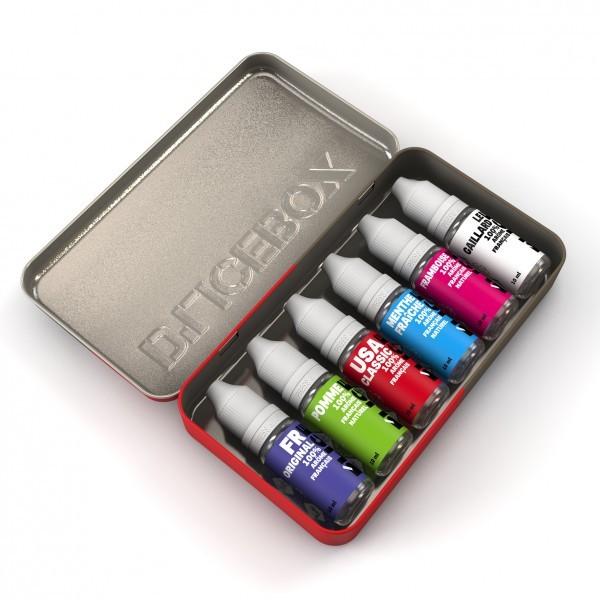 Boîte rangement E-liquides pour Elle