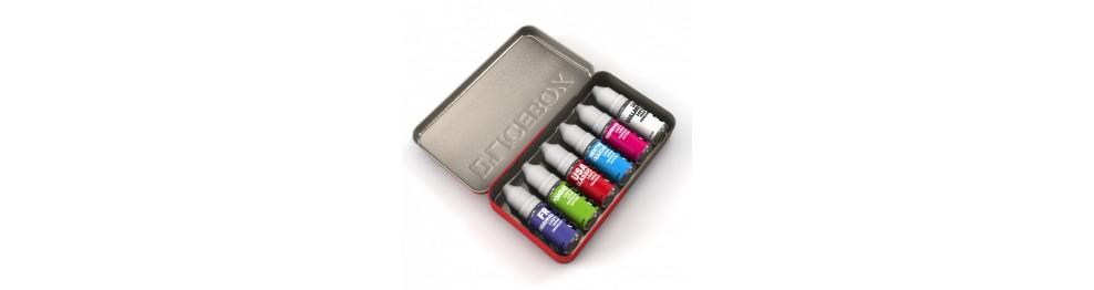 Boîte rangement E-liquides